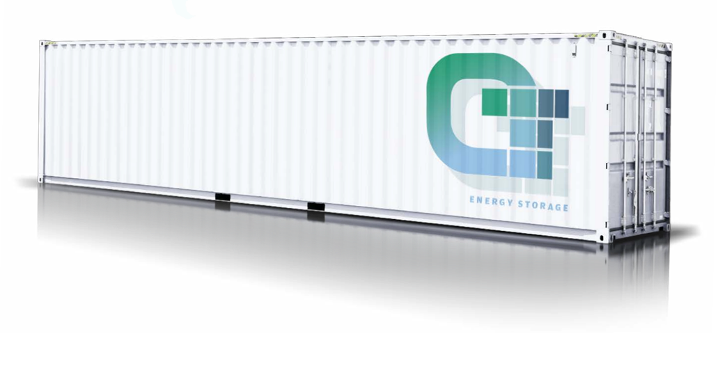 Container based energy storage system for stabilising voltage supplies