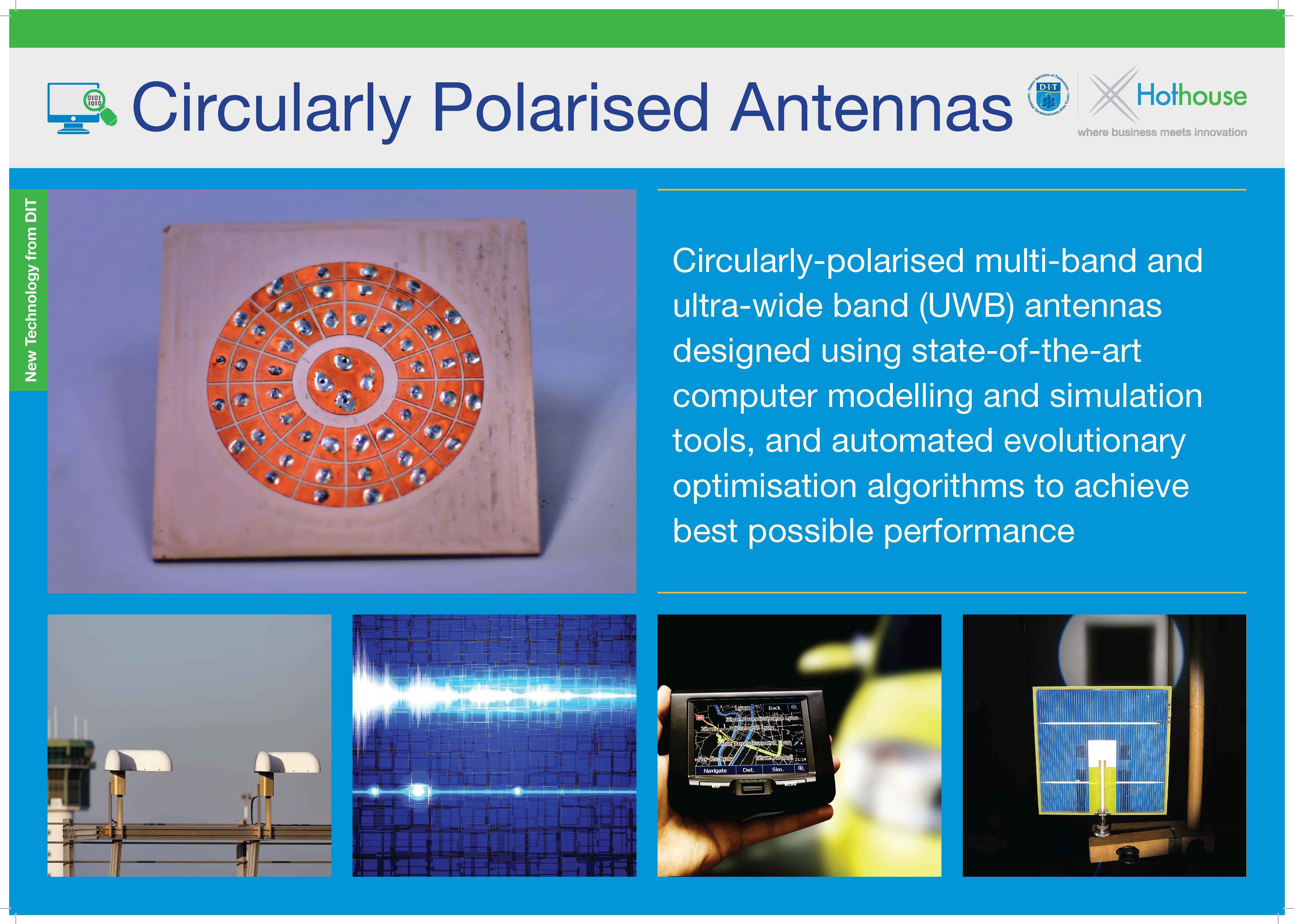 Circularly Polarised Antennas